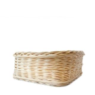 Čtverhranný košíček s pevným dnem - Pohoda