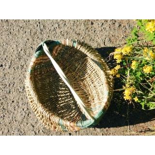 Vnitřek rámového farmářského košíku Magdaly