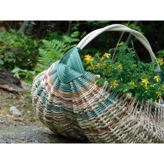 Farmářský košík Magdaly se hodí i na bylinky