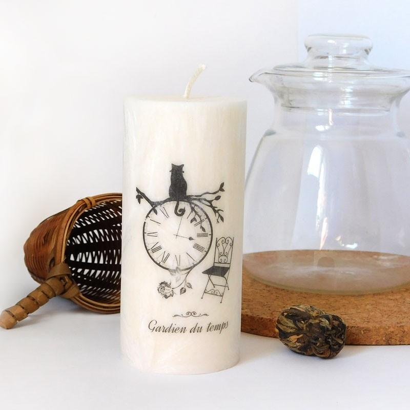 Svíčka z přírodního vosku - Strážce času