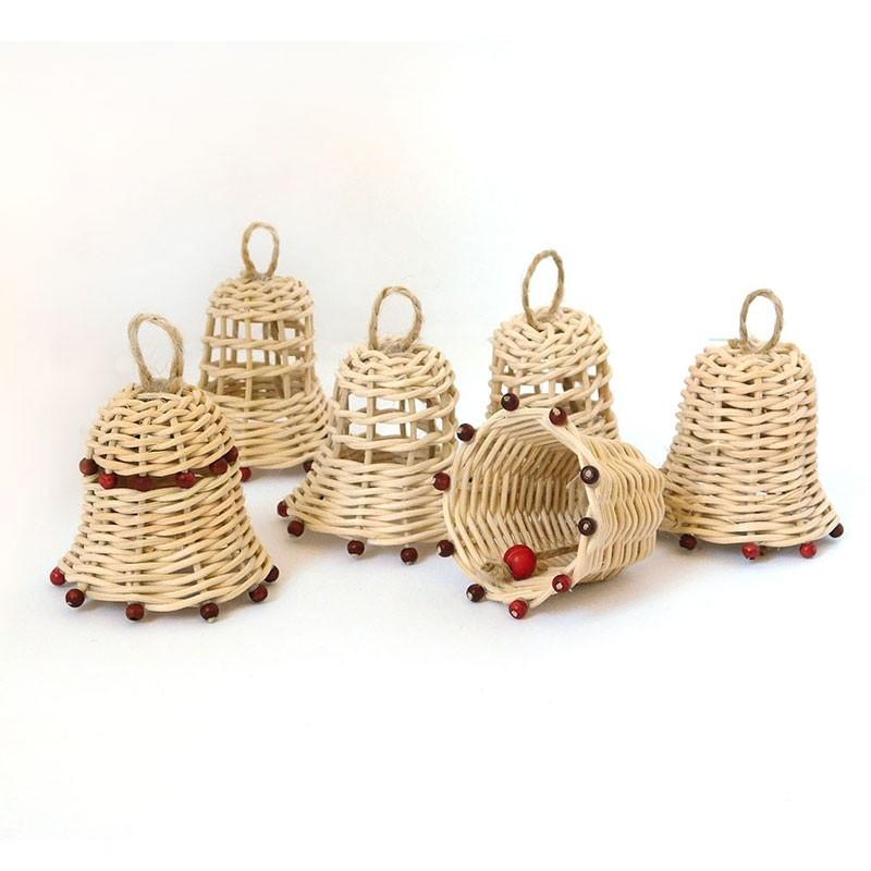 Zvonečky malé - vánoční ozdoby z pedigu na stromeček