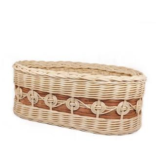 Košíček ovál Keltské kruhy