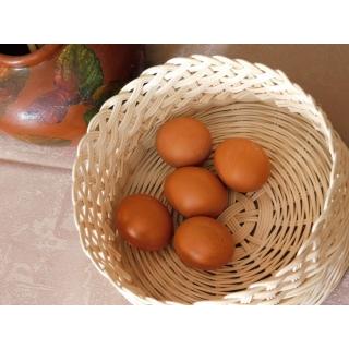 Košíček z proutí - na vajíčka nebo  na velikonoční výslužku